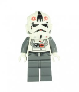Figurka LEGO AT-AT Pilot zepředu