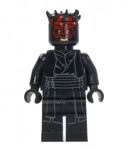 Figurka LEGO Darth Maul zepředu
