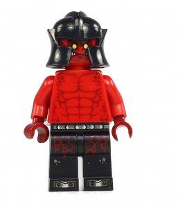 Figurka LEGO Drtič krunýřů zepředu
