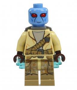 Figurka LEGO Duros zepředu