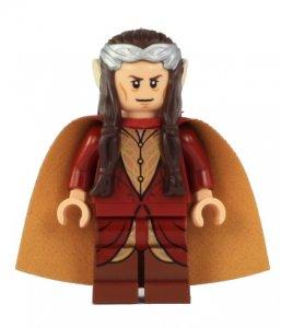 Figurka LEGO Elrond půlelf zepředu