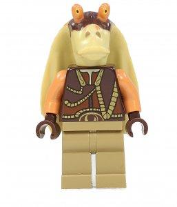 Figurka LEGO Gunganský válečník zepředu