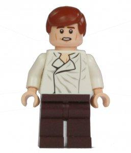 Figurka LEGO Han Solo zepředu