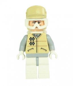 Figurka LEGO Hoth Officer zepředu