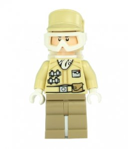 Figurka LEGO Hoth Rebel Trooper zepředu