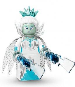Figurka LEGO Ledová královna zepředu