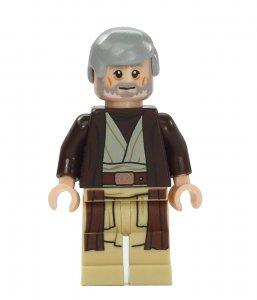 Figurka LEGO Obi Wan Kenobi zepředu