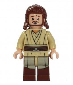 Figurka LEGO Qui Gon Jinn zepředu