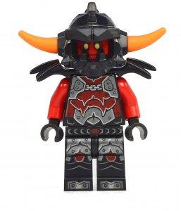 Figurka LEGO Útočník Ash zepředu