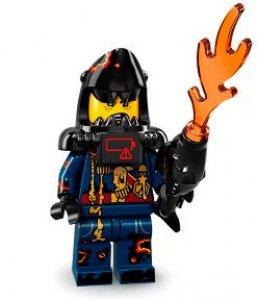 Figurka LEGO Velký bílý nepřítel ze žraločí armády zepředu