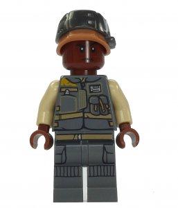 Figurka LEGO Voják rebelů, desátník Tonc zepředu