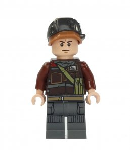 Figurka LEGO Voják rebelů, vojín Calfor zepředu